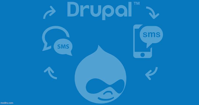 افزونه پیامک دروپال/ dropal